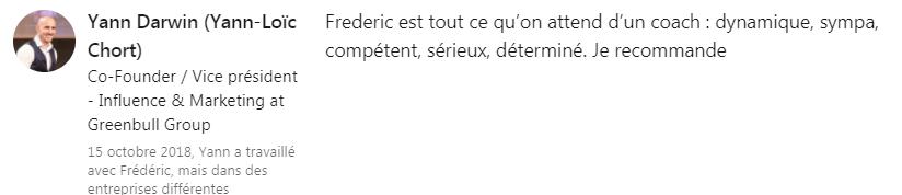 Yann Darwin Linkedin